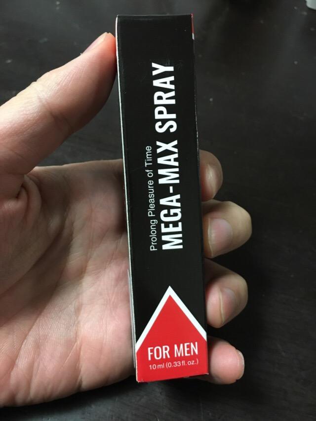 メガマックススプレーの箱